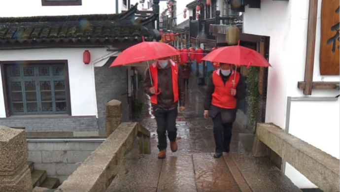 浙江村庄给上海村庄送来口罩,省界同名村合并卡点……长三角比任何时候还像一家人