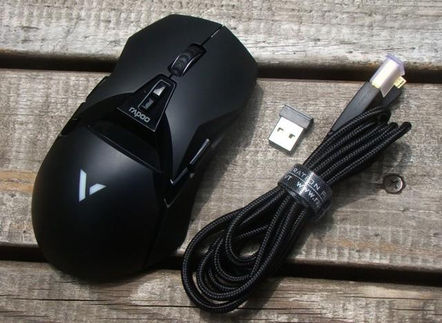 双模电竞 雷柏VT950电竞游戏鼠标热销