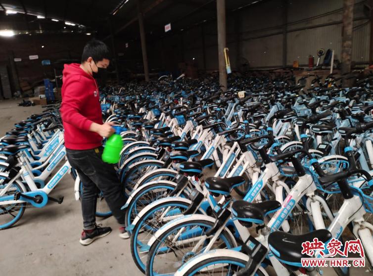 """万众一心战疫情 河南""""好房东""""为共享单车企业减免仓库租金"""