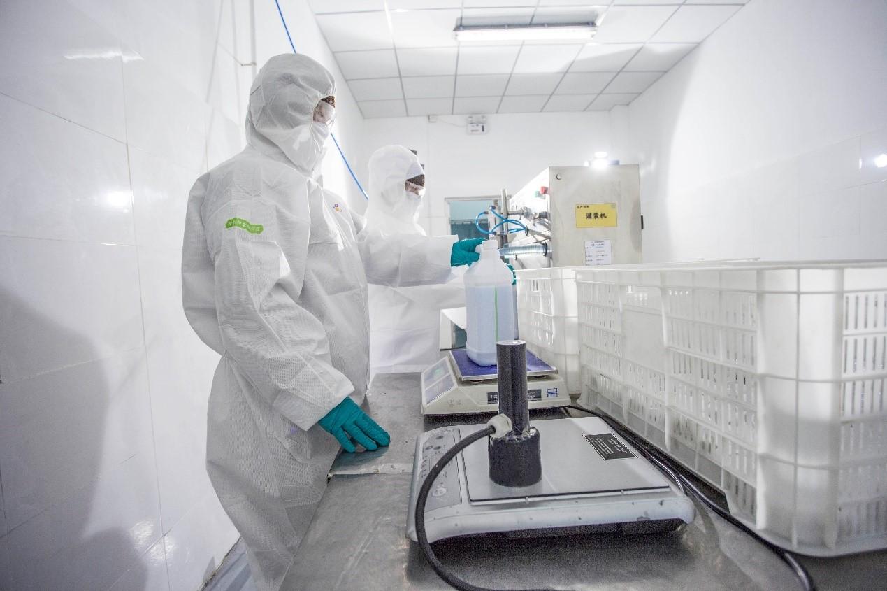 助力快速复产 京东工业品保障800吨消毒液驰援抗疫前线