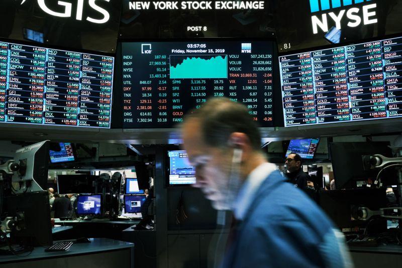 """全球股市遭遇""""黑色星期一"""" 苹果谷歌亚马逊等股价大跌"""