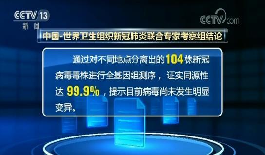 中国一世卫组织新冠肺炎联合专家组:中国疫情风险正在下降 为世界带来的贡献正在增加图片