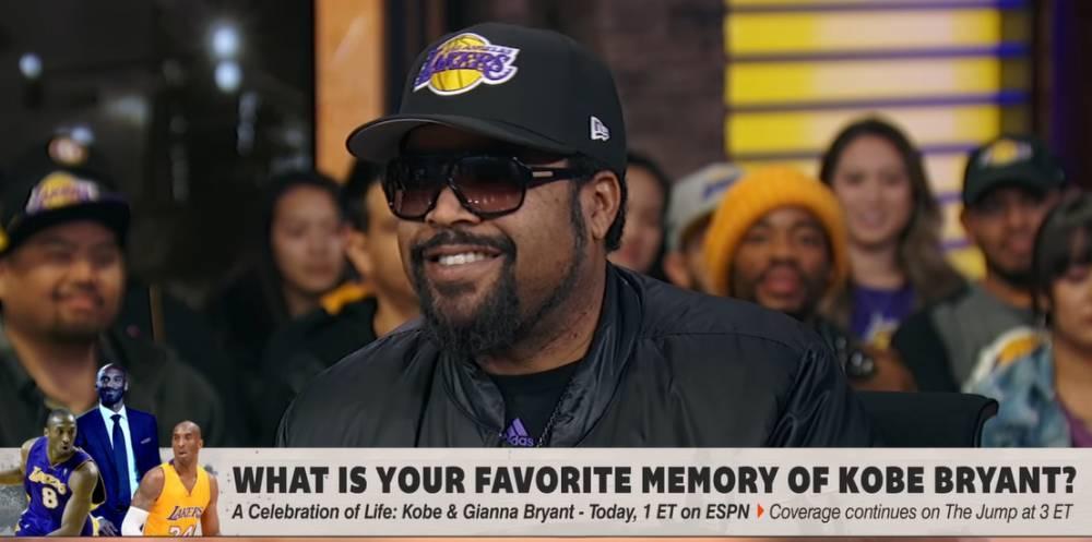 Ice Cube:从我第一次看科比打球开始 就知道他注定不平凡