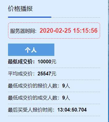 """""""浙A""""车牌今年首次竞价,杭州9人以最低报价1万成交"""