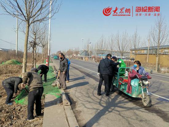 临淄区皇城镇:大力推进路域综合治理 提升镇域环境颜值