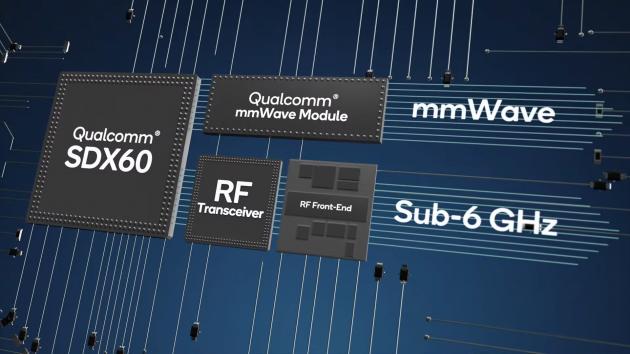 支持所有频段!高通展示第三代5G基带芯片X60