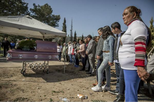 墨西哥杀害女性案频发(图源:墨西哥Cuartoscuro图片社)