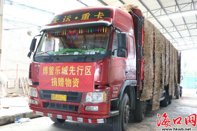 海南博鳌乐城先行区管理局捐赠18吨医疗和生活物资驰援湖北荆州