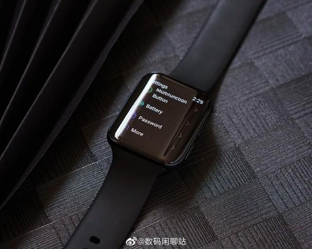 OPPO智能手表真机图首曝 双曲面屏+窄边框