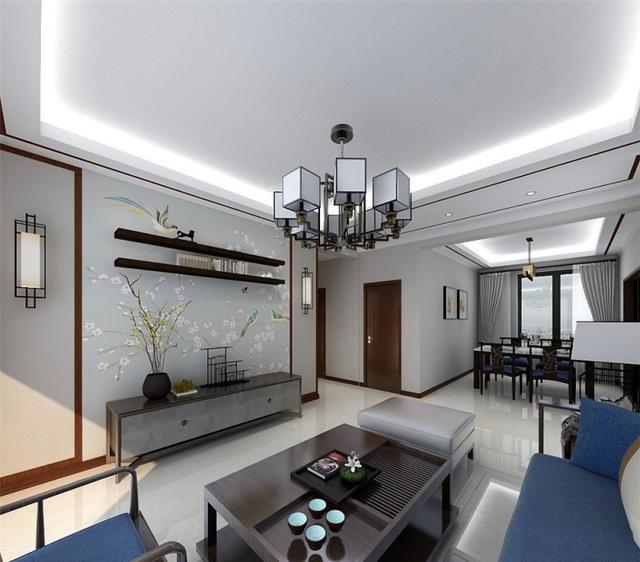 旧房子装修设计,幸亏挑对了客厅沙发,我家真是舒适又美观,爽啊