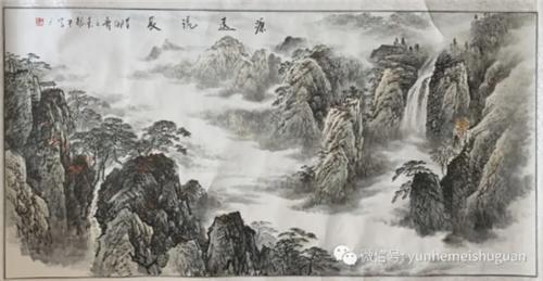 济宁运河美术馆举行艺术微拍