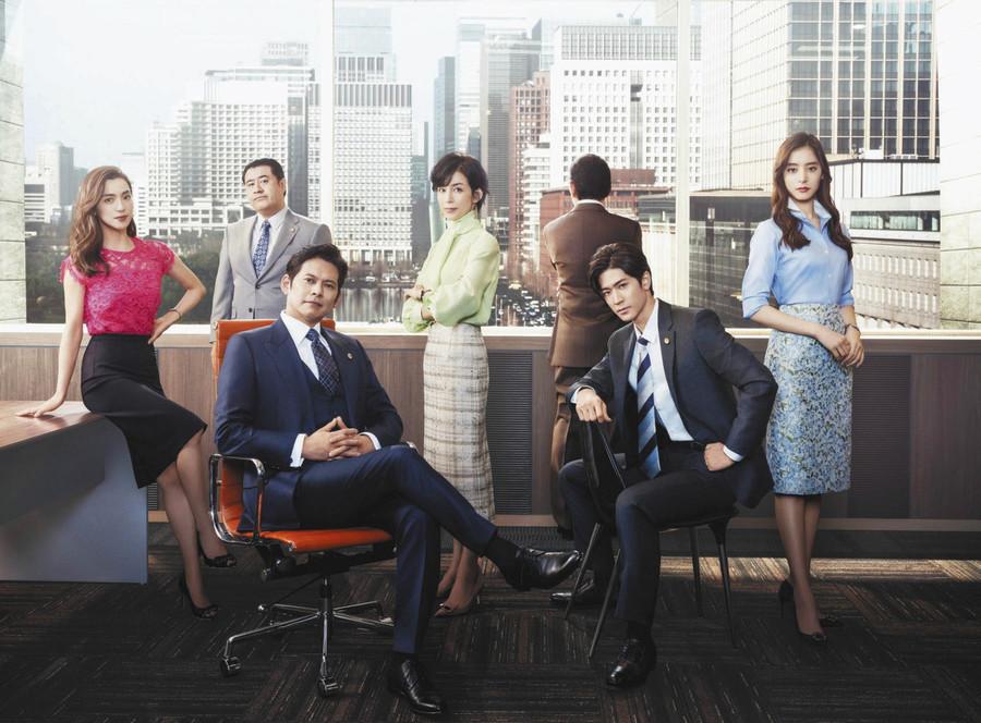 豪华阵容再度集结 织田裕二《金装律师2》主视觉海报公布