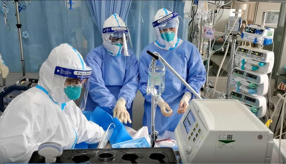 患者2次心跳骤停,武大中南医院用ECMO成功抢救图片