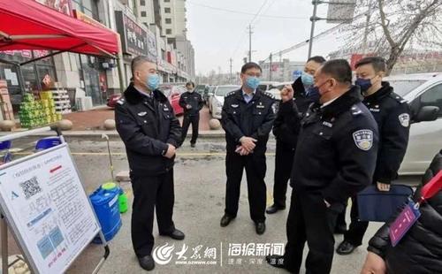 手机扫码自助登记德州临邑县推行零接触式疫情防控登记