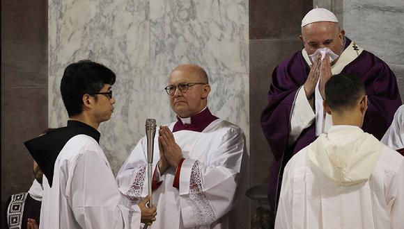 美联社:教皇因身体不舒服取消今日弥撒,罗马城此前有3例新冠病例