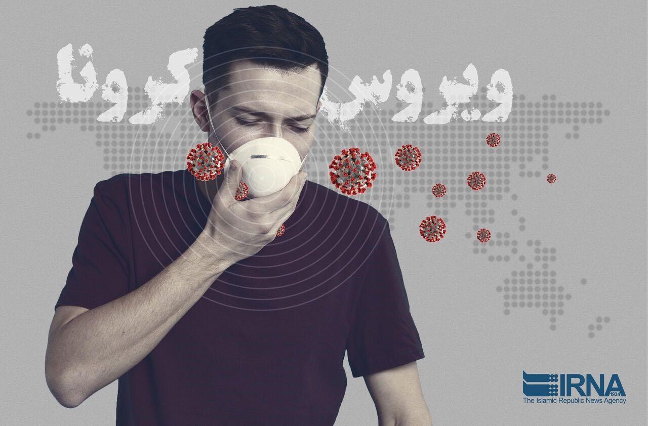 伊朗媒体投放在社交网站上的防疫宣传画 伊朗伊斯兰共和国通讯社 图