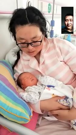 """【众志成城 打赢疫情防控阻击战】抗疫中,失约奶爸为新生女儿取名""""暖暖"""",感恩好心人的帮助"""