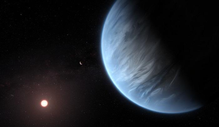 大气分析揭示系外行星K2-18b可能宜居