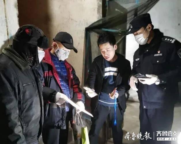"""将疫情防控措施落实到""""户"""" 济南市中区民警开展群租房清查行"""