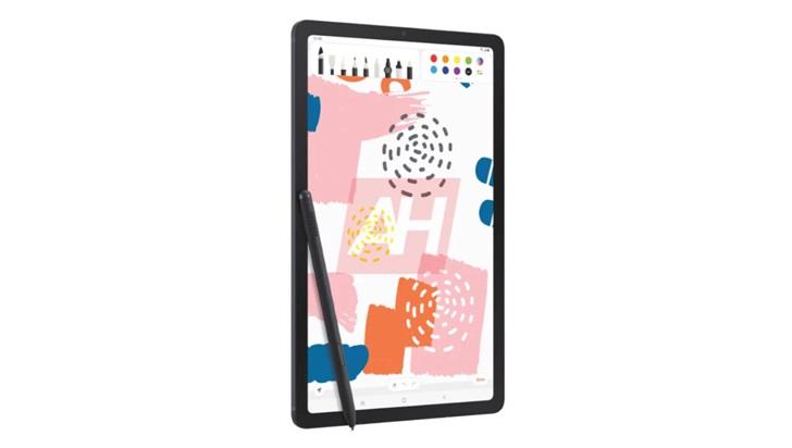 三星 Galaxy Tab S6 Lite 平板渲染图曝光:10.5 英寸屏幕,边框较厚,支持 S Pen
