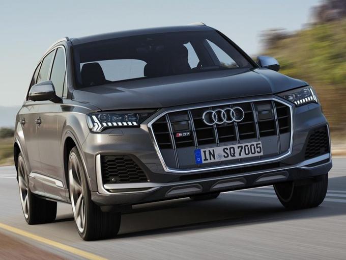 奥迪新SQ7售价公布!海外只卖60万,搭4.0T增压,驾控性再提升
