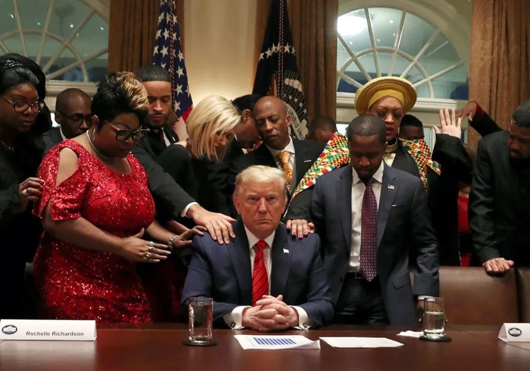 2月27日,美国总统特朗普在白宫参加活动。新华社/路透