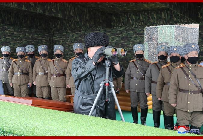 金正恩指导军队联合打击训练 对训练结果极大满意