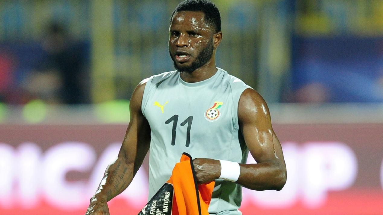 外媒:当地机构评选苏宁新援瓦卡索为加纳年度足球先生