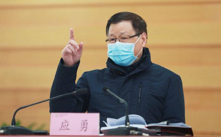 湖北省委书记应勇:继续实行严格的离汉离鄂通道管控措施图片