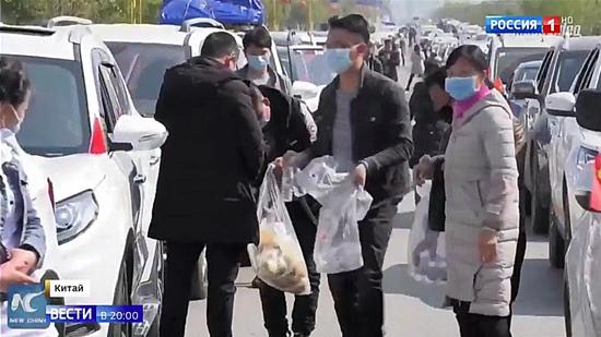 俄媒:中国各地有序复工复产 人工智能助力抗击疫情图片