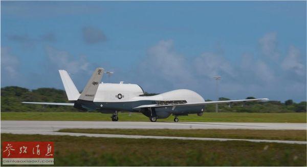 美军首次在关岛部署MQ4C无人机 可24小时不间断飞行