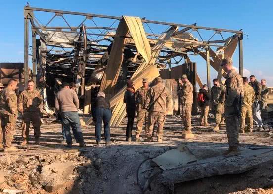美军称驻伊拉克基地遭袭致64伤 伊朗将军这样解读