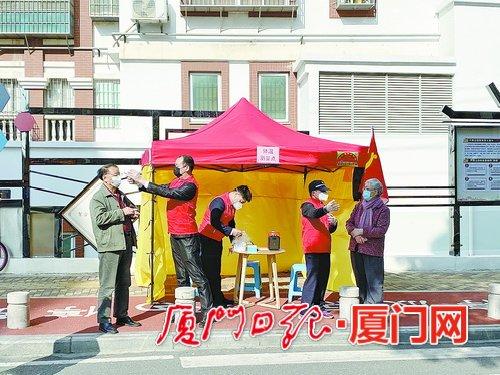 集美各小区党组织冲锋在前 搭建五级架构筑牢首道防线