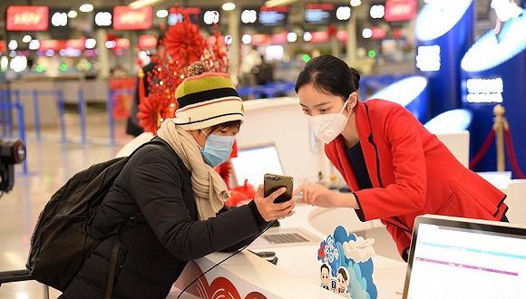 上海机场集团:春运返程客流总体