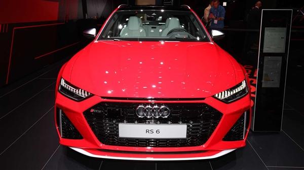"""3.6秒破百!全新奥迪RS6香港上市:不再是低调""""买菜车"""""""