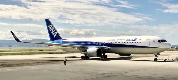 全日空航空宣布取消或减少部分往返中国的航线图片