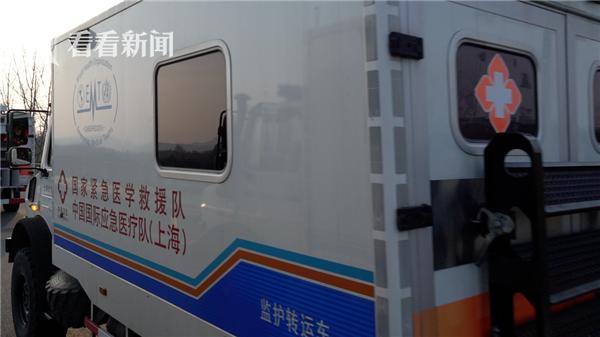 视频|东方医院国家紧急医学救援队14小时连夜抵汉图片