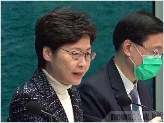 林郑月娥:2月8日起内地入境香港人士须隔离14天