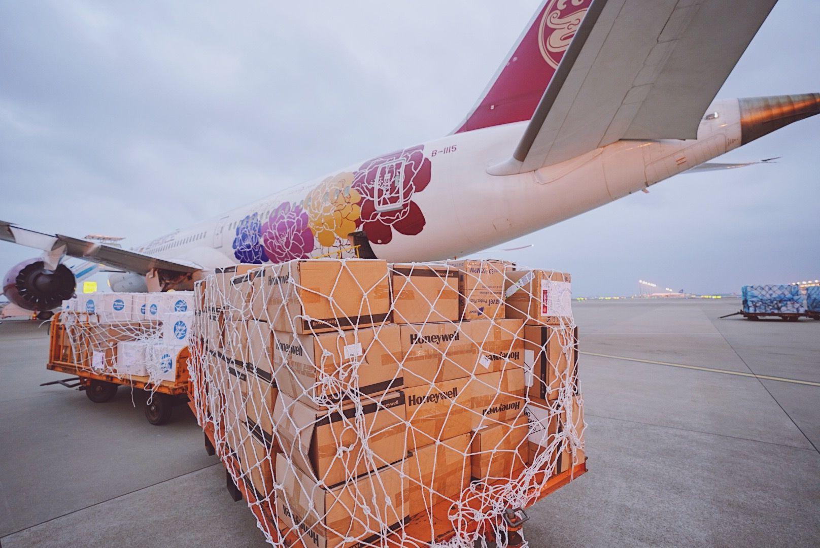 吉祥航空调配787宽体客机执行防疫物资运输任务图片
