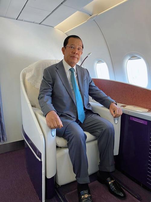 洪森来华访问 柬埔寨官员:有福同享有难同当图片
