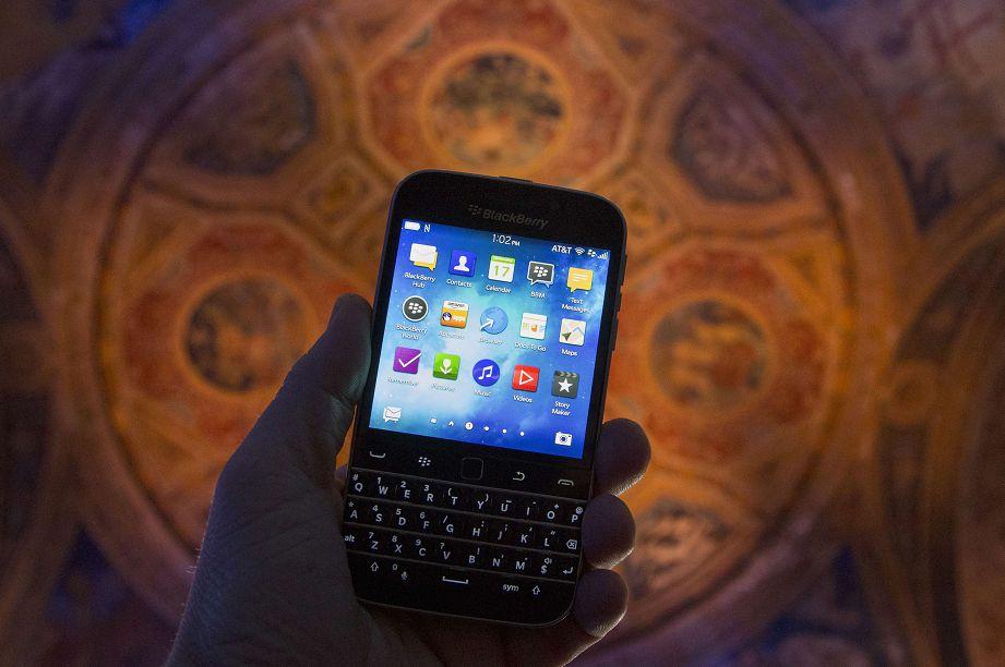 还记得风靡一时的黑莓手机吗?与TCL合约将到期 或成为历史