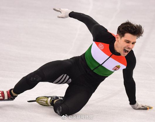 匈牙利短道速滑运动员因辱华被禁赛一年图片