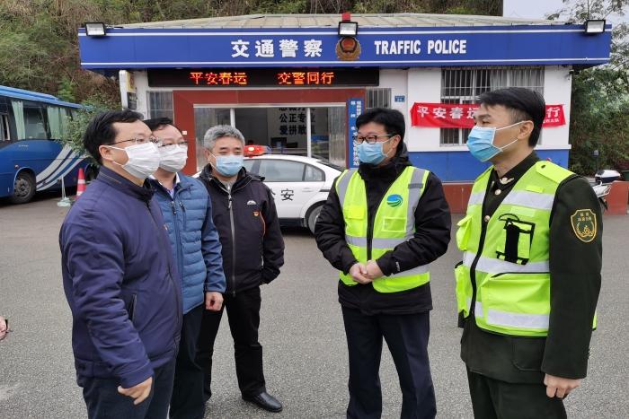 驻省国资委纪检监察组:挺纪在前,共战疫情图片
