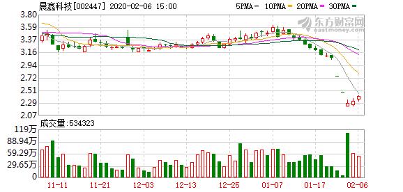晨鑫科技:大股东所持1416.18万股司法拍卖遭流拍