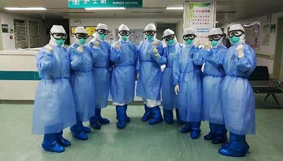 陕西首批援助湖北医疗队接管武汉九院10楼病区,收治重患64人