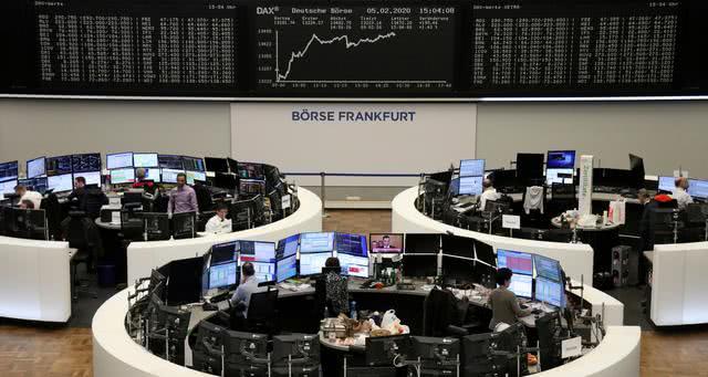 德银股价飙升12.5%!欧股收涨0.4%,银行板块大涨2%