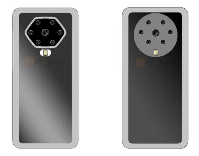 "OPPO新专利公布后置7摄""花洒""模组设计来了"