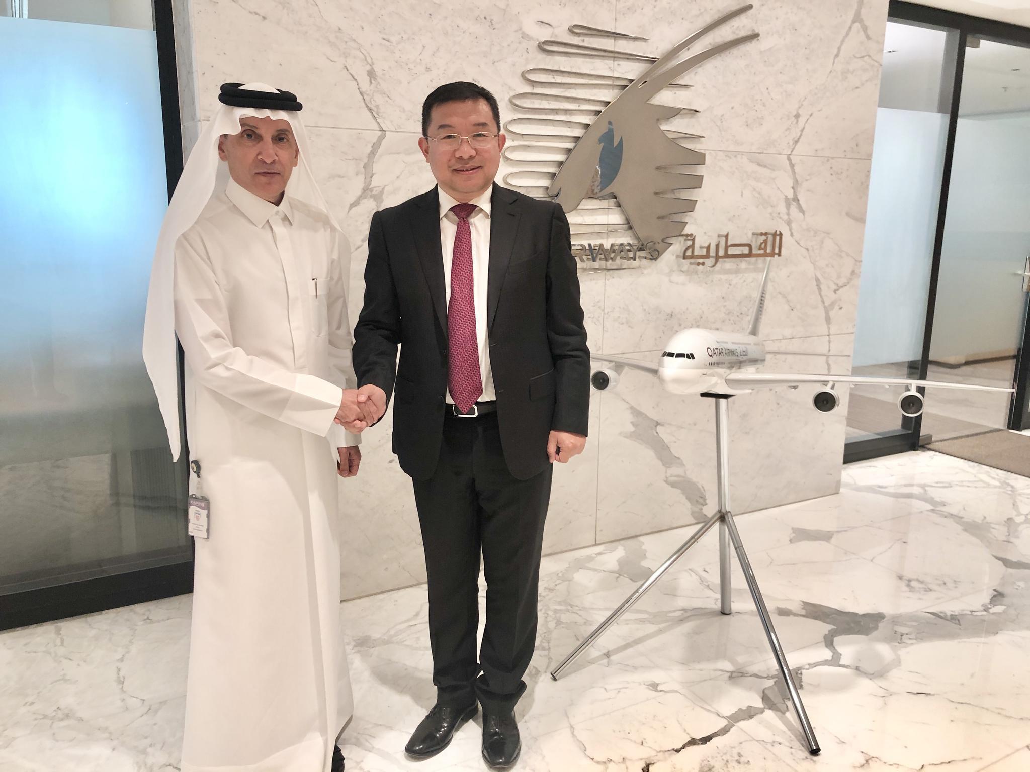 卡塔尔航空宣布使用全球航线网络驰援中国抗击疫情图片