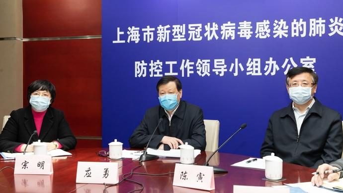 """上海市长慰问""""白衣战士"""",41位确诊病人治愈极大增强全社会信心图片"""