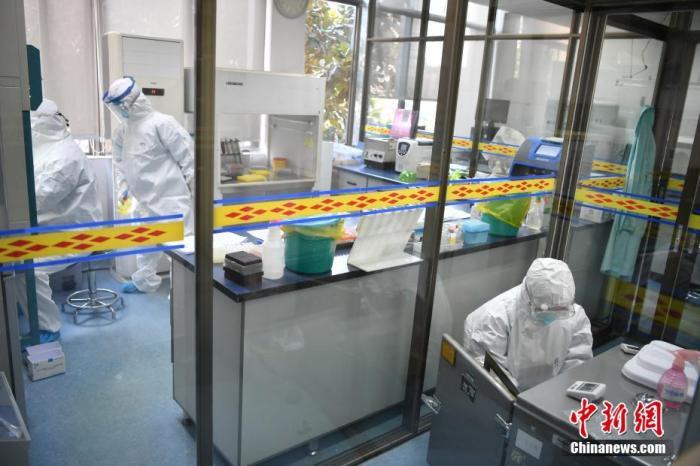 安徽对所有密切接触者进行核酸检测初筛图片